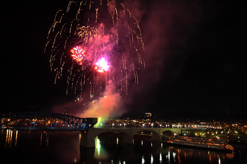 Chattanooga Holiday Fireworks